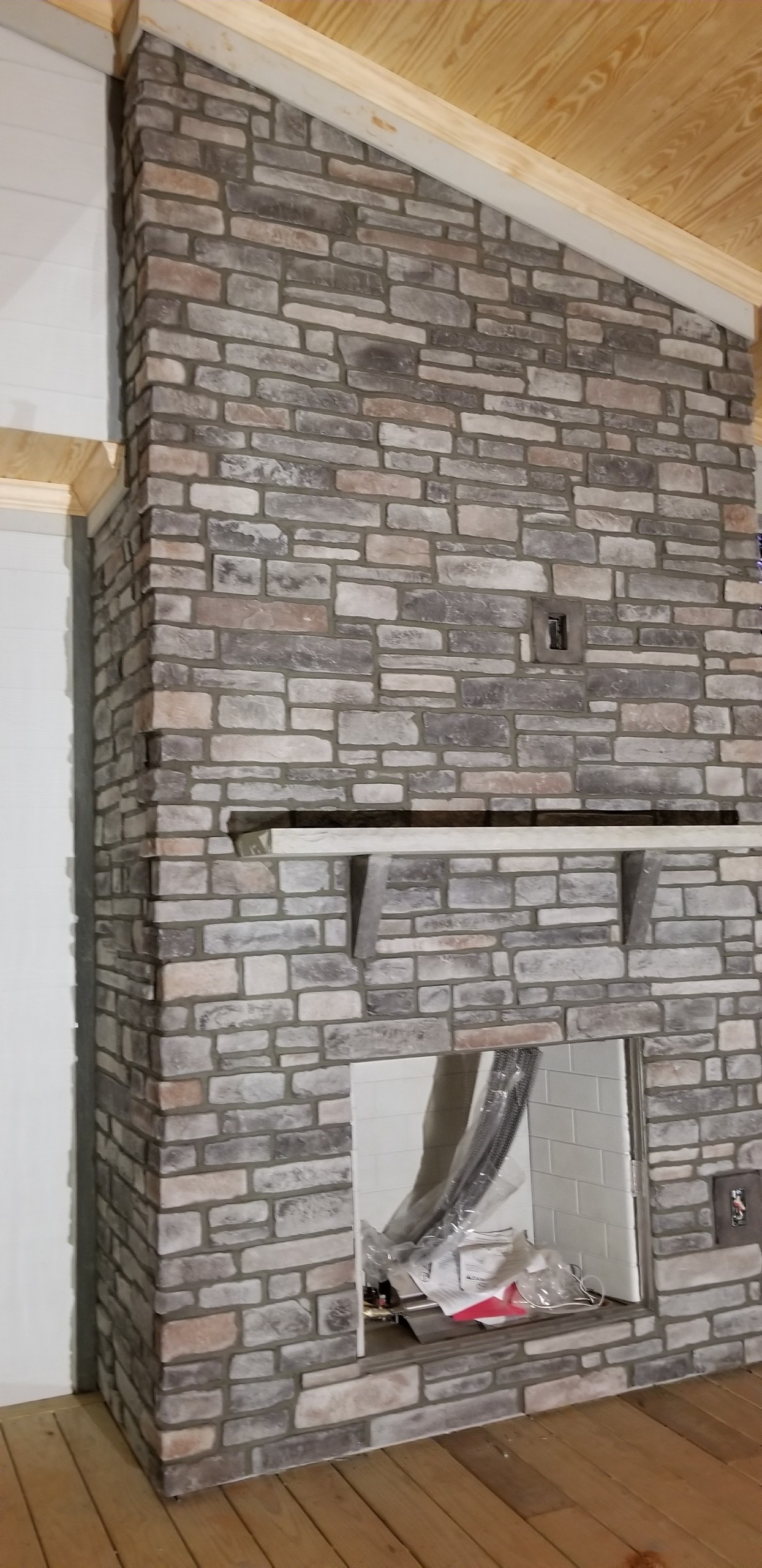Kentucky stack with grout joint